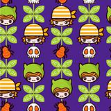 Halloween Pirate Pattern