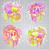 cool Design color - vector