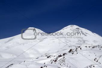 Caucasus Mountains. Mount Elbrus