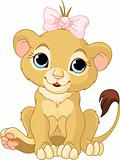 Lion girl cub