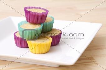 Small vanilla cupcake