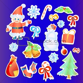 Christmas-stickers