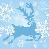 blue deer riding