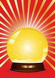 gold-snow-globe