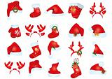 santa claus hats 