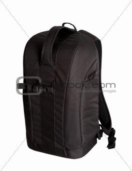Black photo backpack