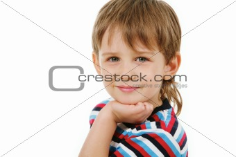 Adorable preschooler