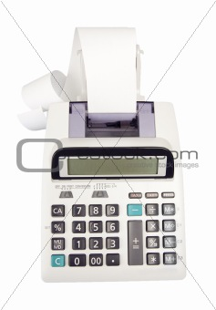Adding Machine - Photo Object