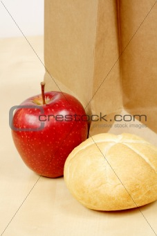 apple and roll
