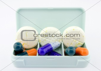 daily portions of pills