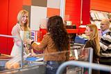 Supermarket Cashier Line