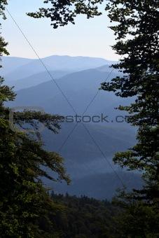 a range of hills
