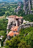 Nunnery Roussanou, Meteora, Greece