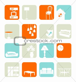 Household Interior ornaments set