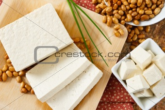 Soybeans with Tofu