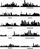 asian cities skylines