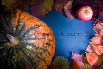 Autumn harvest frame