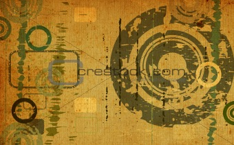 abstract grunge design