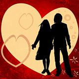 couple, valentine design