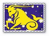 Zodiac - Horned goat