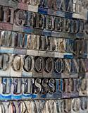 Letterpress Type Blocks
