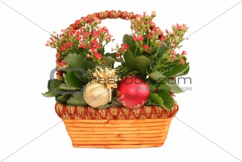 Basquet with flowers