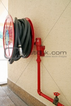 Red firehose