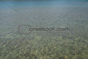 Clear seawater