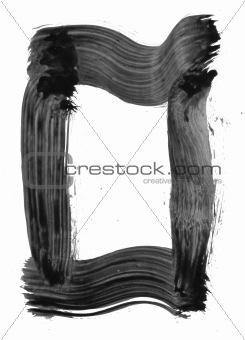 Black Painted Element