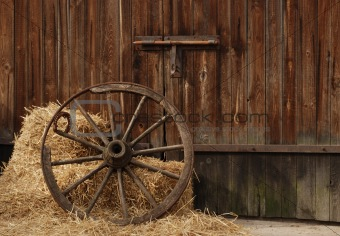 image 394750 old wooden wheel from crestock stock photos