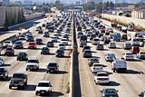 Los Angeles Freeway Traffic--the 405