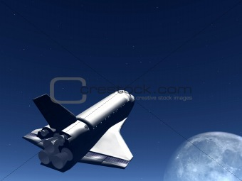 Shuttle In The Sky 55