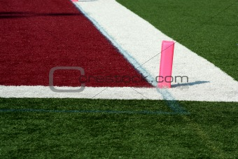 Football end zone