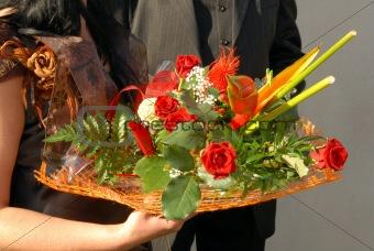 BRIDES FLOWERS - WEDDING