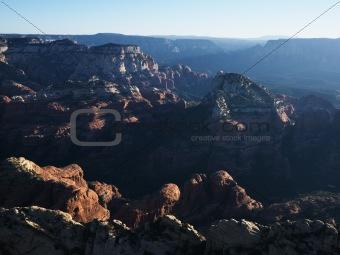 Arizona rock formations.