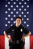 Woman police officer.