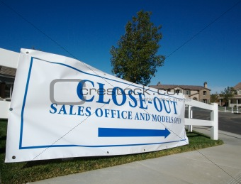 Close-Out Real Estate Banner