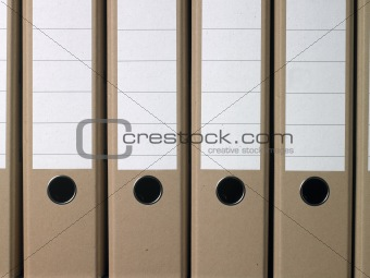plain brown office folders