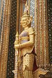 Thai guardian statue