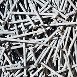 Pile of nails.