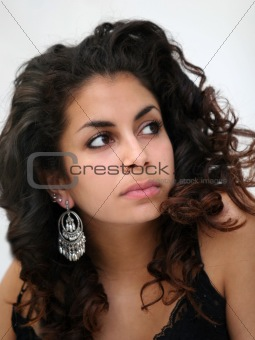 Beautiful middle eastern girl