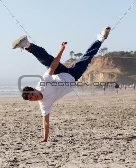 Amazing handstand