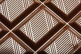 Bar of chocolate fragment