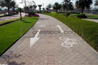 Cycling lane 4