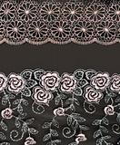 Collage lace with pattern in the manner of flower
