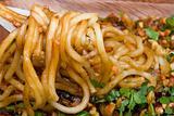Noodles on a Fork