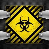 Bio-hazard sign.