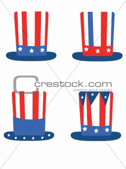 Independence day,hats