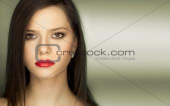 portrait sexy confident woman