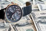 Wristwatch And Money